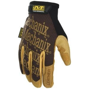 Mechanix Wear Original Leather Gloves Brown