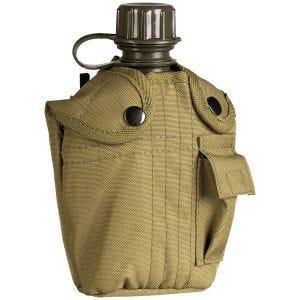 Mil-Tec Feldflasche mit Hülle 1 Liter Coyote