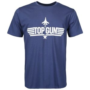 Mil-Tec T-Shirt Top Gun Bleu Foncé