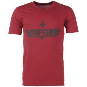 Mil-Tec T-Shirt Top Gun Rouge