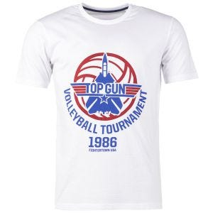 Mil-Tec T-Shirt Top Gun Blanc
