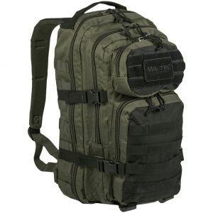 Mil-Tec US Assault Pack Small Einsatzrucksack mit MOLLE-Befestigungssystem Ranger Green/Schwarz