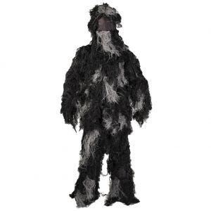 Mil-Tec Ghillie Suit Anti-Fire Basic Night Camo