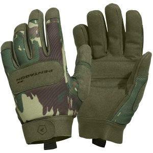 Pentagon Duty Mechanic Handschuhe Greek Lizard