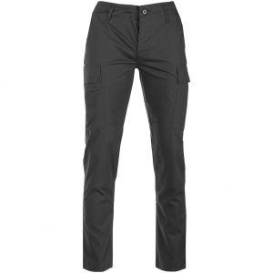 Teesar US BDU-Hose aus Ripstop-Gewebe Slim-Fit-Passform Schwarz
