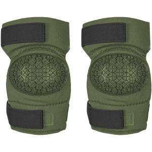 Alta Industries AltaCONTOUR 360 Ellbogenschützer mit Vibram-Kappen und AltaGRIP-Klettverschluss Olive Green