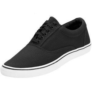 Brandit Bayside Sneaker Schwarz/Weiß