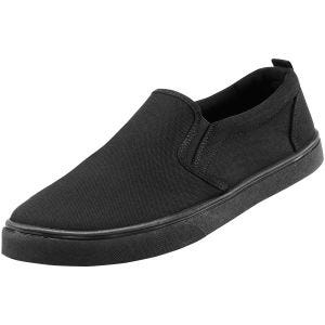 Brandit Southampton Sneaker zum Reinschlüpfen Schwarz