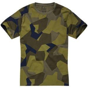 Brandit T-shirt Swedish Camo M90