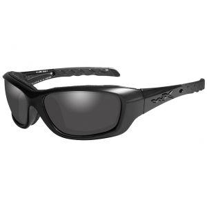 Wiley X WX Gravity Schutzbrille - Gläser in Smoke Grey / Gestell in Mattschwarz/Black Ops