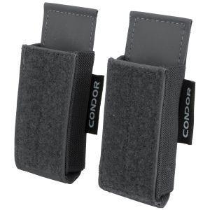 Condor QD M4 Mag Pouch 2 Pack Slate