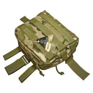 Flyye Drop Leg Beinholster-Tasche für Zubehör MOLLE-Befestigungssystem MultiCam