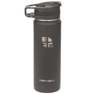 Earthwell Roaster Vakuum-Trinkflasche mit Befestigungsvorrichtung 592 ml Volcanic Black