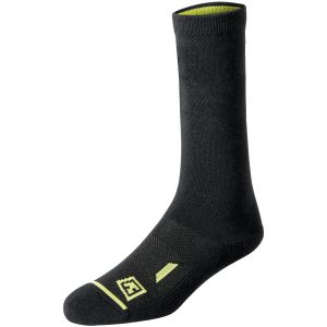 "First Tactical Duty 6"" Socken aus Baumwolle Schwarz (3er-Pack)"