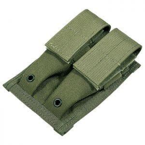 Flyye Doppel-Magazintasche für 9 mm-Kaliber MOLLE-Befestigungssystem Ranger Green