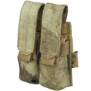 Flyye Ver. FE Doppel-Magazintasche für 9 mm-Kaliber MOLLE-Befestigungssystem A-TACS AU