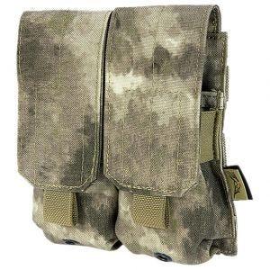 Flyye Doppel-Magazintasche für M4/M16 MOLLE-Befestigungssystem A-TACS AU