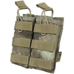 Flyye EV Universal Doppel-Magazintasche mit MOLLE-Befestigungssystem A-TACS AU