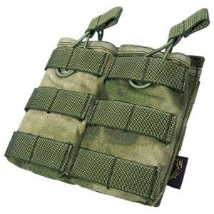 Flyye EV Universal Doppel-Magazintasche mit MOLLE-Befestigungssystem A-TACS FG