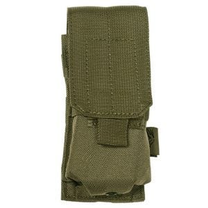 Flyye Einzel-Magazintasche für M4/M16 mit MOLLE-Befestigungssystem Ranger Green