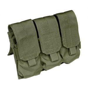 Flyye Dreifach-Magazintasche für M4/M16 mit MOLLE-Befestigungssystem Ranger Green