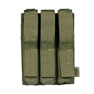 Flyye Dreifach-Magazintasche für MP5 mit MOLLE-Befestigungssystem Ranger Green