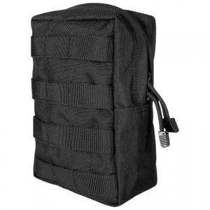 Flyye Hochformat-Tasche für Zubehör MOLLE-Befestigungssystem Schwarz