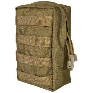 Flyye Hochformat-Tasche für Zubehör MOLLE-Befestigungssystem Coyote Brown