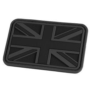 Hazard 4 Union Jack 3D-Patch mit UK-Flagge Schwarz