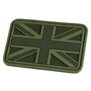 Hazard 4 Union Jack 3D-Patch mit UK-Flagge OD Green