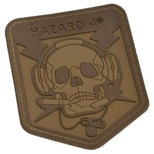 Hazard 4 Operator Skull 3D-Patch Coyote