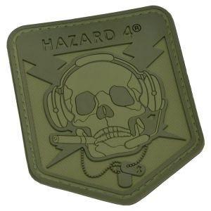 Hazard 4 Operator Skull 3D-Patch OD Green