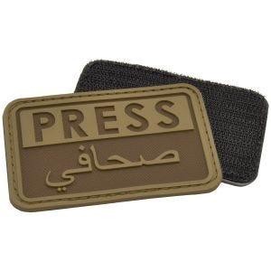 Hazard 4 Press/Arabic 3D-Patch für Reporter Coyote