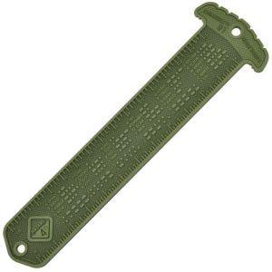 Hazard 4 Cheatstick #1 MOLLE-Patch in Linealform mit Morsezeichen OD Green