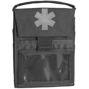 Helikon Pocket Med Insert Flache Tasche für Erste-Hilfe-Zubehör Shadow Grey