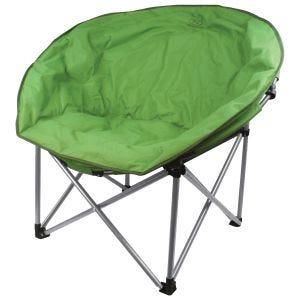 Highlander Deluxe-Campingstuhl Grün