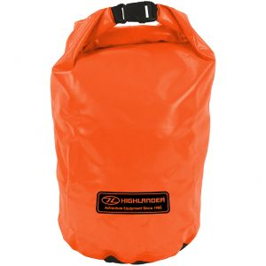 Highlander Dry Bag Small Wasserdichter Packsack Orange