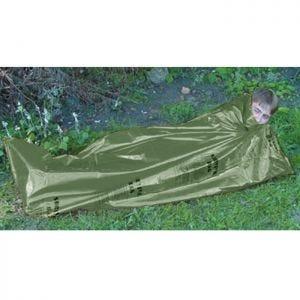 Highlander Double Emergency Survival Bag Notfallplane Oliv