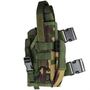 Pro-Force MOLLE-Pistolenholster für den Oberschenkel DPM