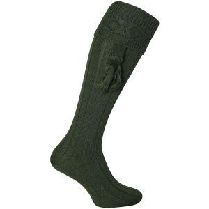 Jack Pyke Einfarbige Jagdstrümpfe Grün
