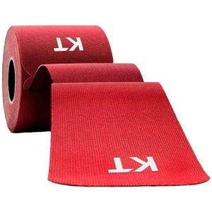 """KT Tape Consumer Original 10"""" Kinesio-Tape aus Baumwolle vorgeschnitten Rot"""