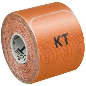 """KT Tape Consumer Pro 10"""" Synthetisches Kinesio-Tape vorgeschnitten Blaze Orange"""