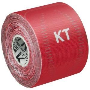 """KT Tape Consumer Pro 10"""" Synthetisches Kinesio-Tape vorgeschnitten Rage Red"""
