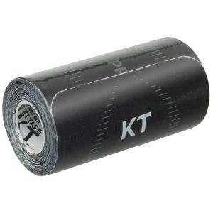 KT Tape Pro Wide Kinesio-Tape vorgeschnitten Schwarz