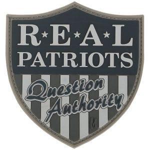 "Maxpedition Patch mit Schriftzug ""Real Patriots"" SWAT"
