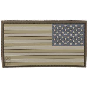 Maxpedition Patch Flagge der Vereinigten Staaten spiegelverkehrt Groß Arid