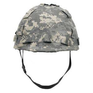 MFH Kunststoff-Helm mit Stoffbezug ACU Digital