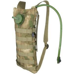 MFH Trinkblase und Tasche mit MOLLE-Befestigungssystem HDT Camo FG