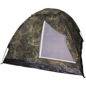 MFH Monodom 3-Personen-Zelt mit Moskitonetz Flecktarn