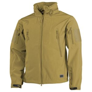 MFH Scorpion Softshelljacke Coyote Tan